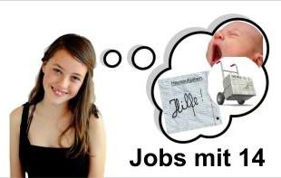 Jobs mit 14 Jahren