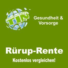 Vergleich Rürup-Rente